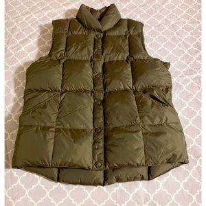 Lands End • Down Puffer Vest • size small EUC